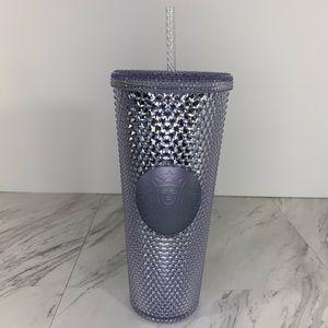 Starbucks Venti 24 oz Platinum Stud Tumbler Cup